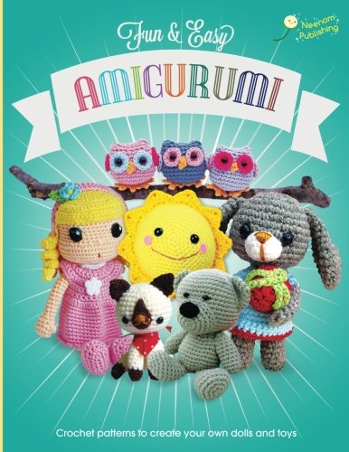 Toy Pattern Doll Crochet - Fun and Easy Amigurumi: Crochet patterns to create your own dolls and toys (Volume 1)