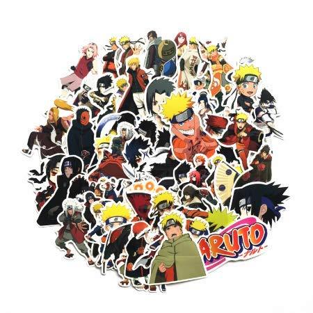 Anime Ninja Sticker Sticker Snowboard Laptop Equipaje ...
