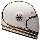 Bell Bullitt Carbon RSD Mojo White/Gold Full Face Helmet - X-Large