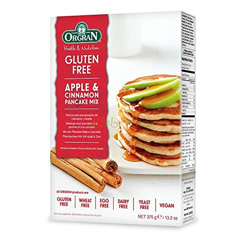 ORGRAN APPLE & CINNAMON PANCAKE MIX (TORTITAS MANZANA Y ...