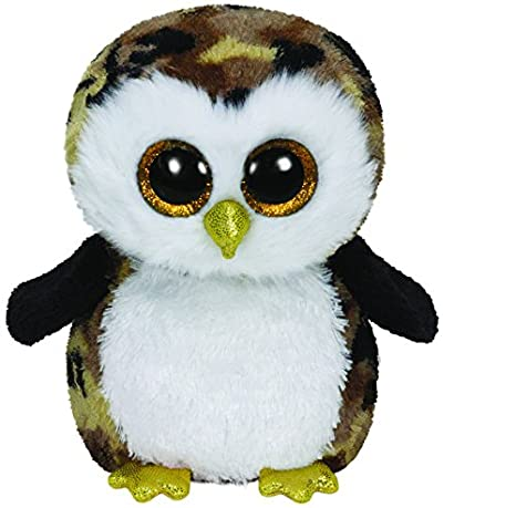 09343e4437e Image Unavailable. Image not available for. Color  Ty Beanie Boos Owliver  the Camo Owl Plush