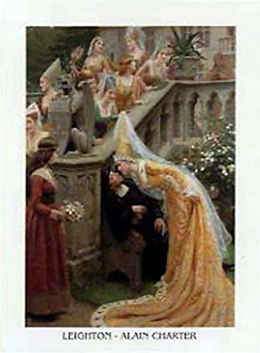 Posters: Edmund Blair Leighton Poster Art Print - Alain Chartier c