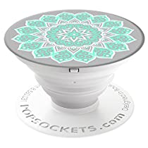 PopSockets: Expanding Stand and Grip for Smartphones and Tablets - Peace Mandala Tiffany