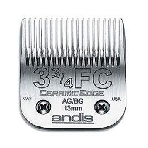 Stainless Steel Pro Quality Grooming CERAMIC EDGE CLIPPER BLADES CHOOSE SIZE !(# 30 = .5mm) by Andis (Image #2)