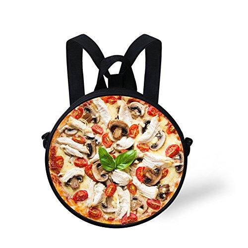 Bag FunnyPrint Cross for Handbag Women Women V6LCC2043I body Round Fashion Cute Circle SqRCB8S