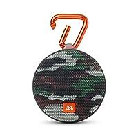 JBL Clip 2 Waterproof Portable Bluetooth Speaker, Camouflage