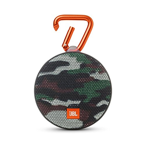 JBL Clip 2 Waterproof Portable Bluetooth Speaker (Camouflage)