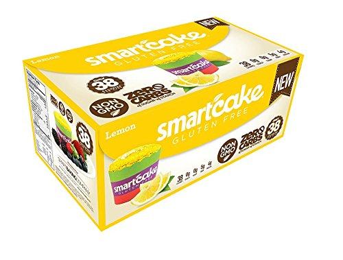 - LEMON SMARTCAKE (16 cakes): Sugar free, gluten free, low carb, keto snack cake