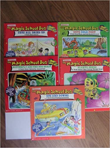Magic School Bus Set Of 5 Ups And Downs Plants Seeds Butterfly