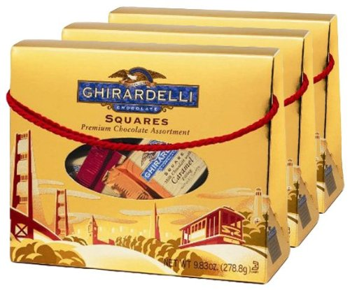 Ghirardelli Chocolate Squares Premium Chocolate Assortment 9.83 oz.