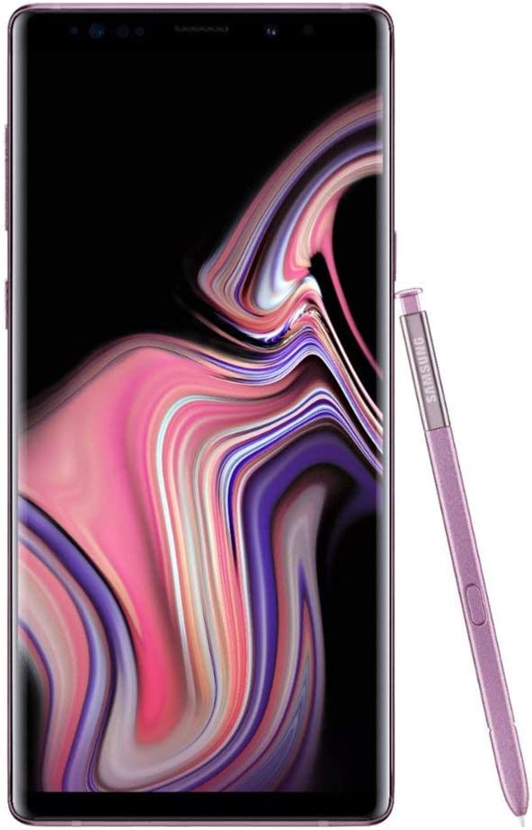 Samsung Galaxy Note 9, 128GB, Lavender Purple - Fully Unlocked (Renewed)
