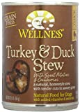 Wellness Turkey & Duck Stew with Sweet Potatoes - 12x12.5oz by Wellness Natural Pet Food