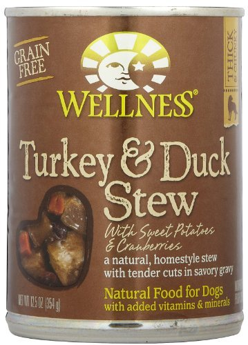 Wellness Turkey & Duck Stew with Sweet Potatoes - 12x12.5oz by Wellness Natural Pet Food by Wellness Natural Pet Food