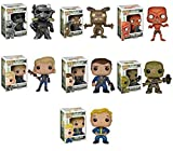 Funko Fallout: Lone Wanderer Male, Lone Wanderer Female, Deathclaw, Vault Boy, Super Mutant, Brotherhood of Steel, Feral Ghoul Pop! Vinyl Figures Set of 7