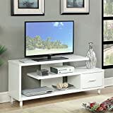 Convenience Concepts Designs2Go Seal II TV Stand, 60-Inch, White Review