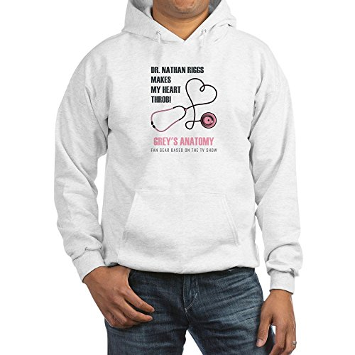 Nathan Thermal (CafePress DR. Nathan Riggs Pullover Hoodie, Classic & Comfortable Hooded Sweatshirt White)