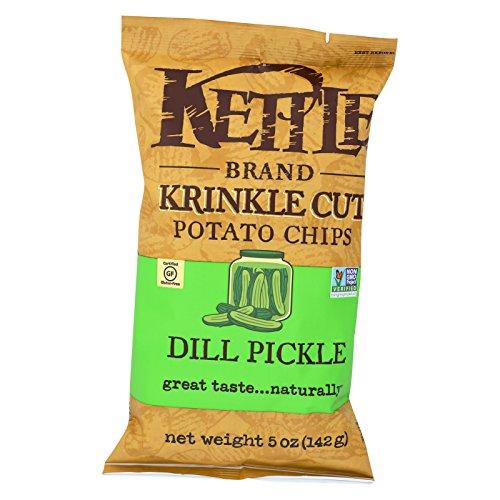 Kettle Foods Chip Krnkl Cut Dill Pckl