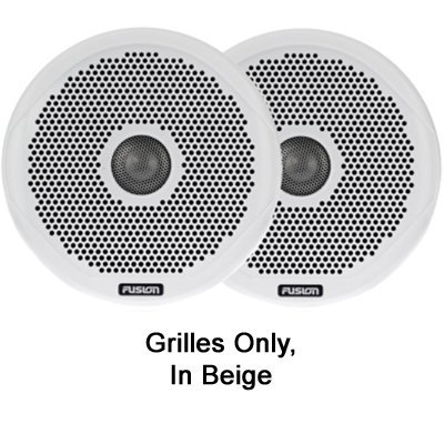 Fusion Pair of Beige Grilles, 6