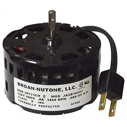 NuTone Replacement Fan Motor for Model 671R (87594000)