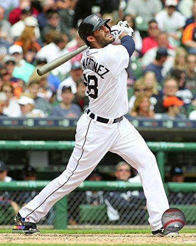 MLB J.D. Martinez Detroit Tigers 2015 Action Photo (Size: 8