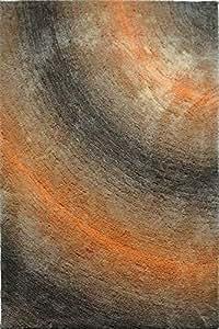 Carpets, Area Rugs, Modern Design Carpets & Rugs, High Quality, Stylish Floor Carpets & Rugs Brown Orange 50 x 80 cm