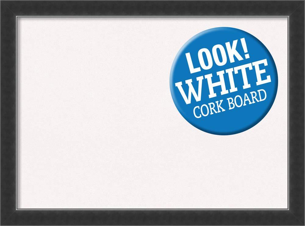 Amanti Art DSW3979196 Framed Cork Board Large Corvino Black