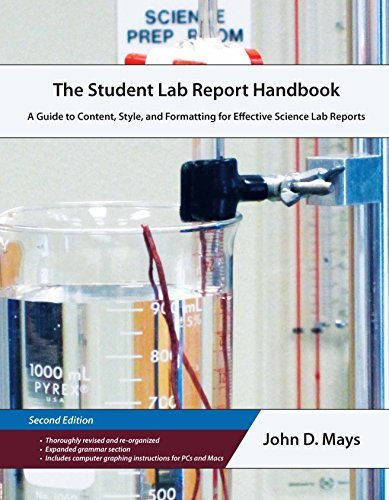 Student Lab Report Handbook A Guide to Content, Style, and Formatting for Effective Science Lab Reports