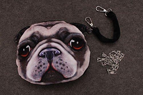 Extérieur Couleur 6 Couleurs Bag 6 Sacoche à Main Epaule Mode Pochette ACVIP Petite Femme Mignon Sac Filles Chat Visage pour HUqTO6