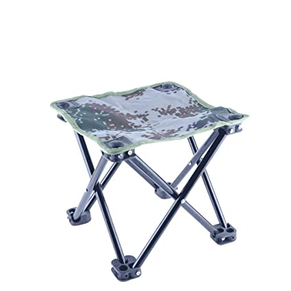 Excellent Amazon Com Sply Dtem Portable Folding Stool Small Bench Bralicious Painted Fabric Chair Ideas Braliciousco