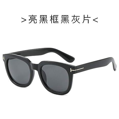 Yangjing-hl Gafas de Sol Retro clásicas Gafas de Montura ...