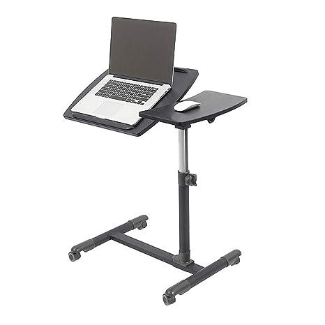 Amazon.com: Escritorio para portátil de altura ajustable ...