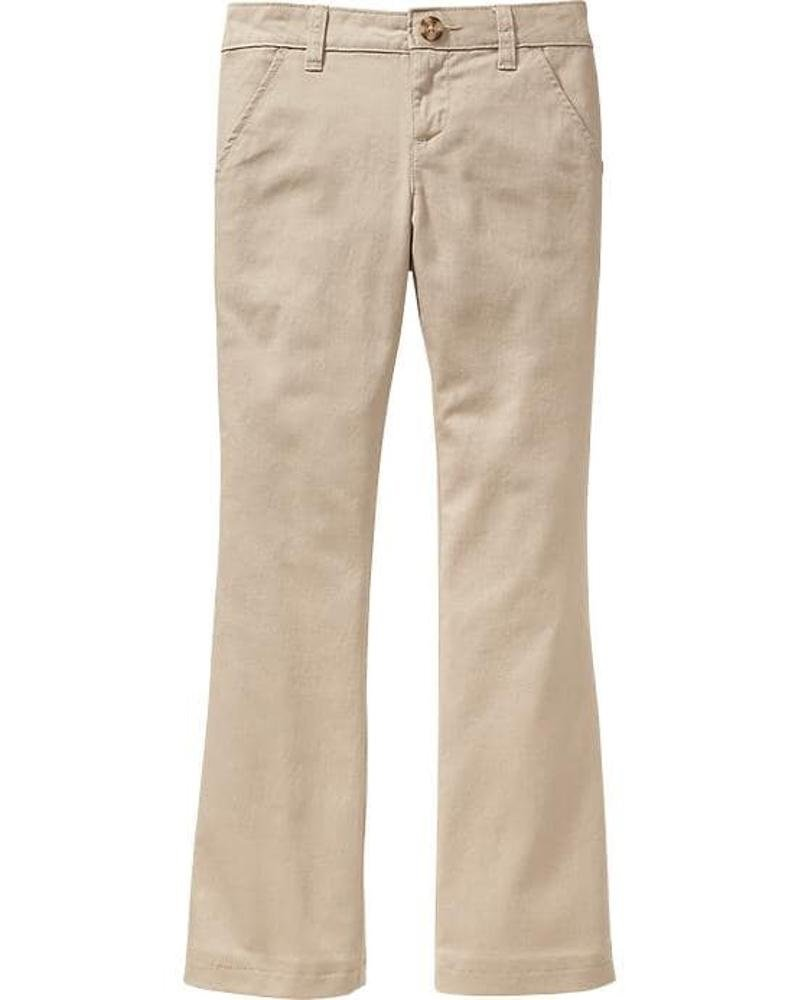 Old Navy School Hot Sale The Best All Year Uniform Bootcut Pants Size 16 for Girls! (16)