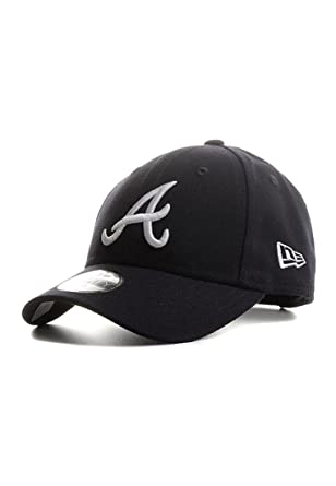 02f1fc09a556 New Era MLB Atlanta Braves The League 9Forty Velcroback Cap Youth  Jugendliche