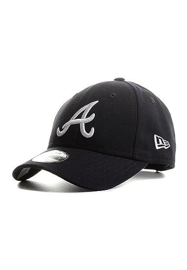 350c79a0b3a5 New Era MLB Atlanta Braves The League 9Forty Velcroback Cap Youth  Jugendliche  Amazon.it  Abbigliamento