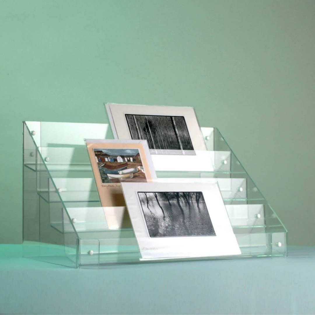 Greeting Card Display Stand - 4 tiers - 570mm (w) x 303mm (d) Luminati