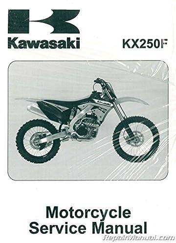 99924 1437 02 2011 2012 kawasaki kx250f service manual manufacturer rh amazon com 2004 kx250f service manual free 2014 kx250f service manual pdf