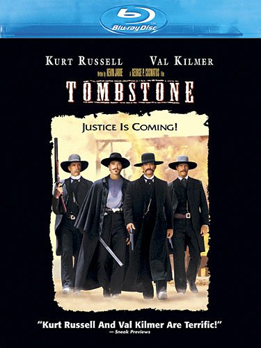 Blu-ray : Tombstone (, Dubbed, Dolby, AC-3, Digital Theater System)