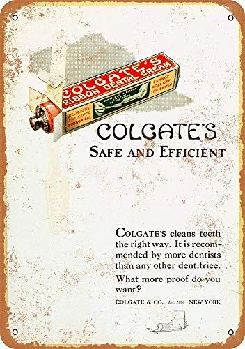TiuKiu Vintage Metal Signs - 1920 Colgate'S Dental Cam - 8