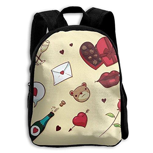 (Backpack, Shoulder Backpack, Chocolate Travel Hiking Unisex Heavy Duty Camping Black Canvas Shoulder Bag Backpacks For Boys Girls Kids)
