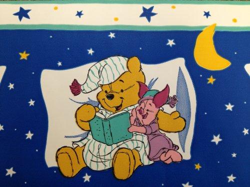 Bedtime Stories Winnie the Pooh Border ()