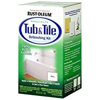 Deals on Rust-Oleum 7860519 Tub and Tile Refinishing 2-Part Kit