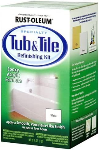 1. Rust-Oleum 7860519 Tub And Tile Refinishing Kit