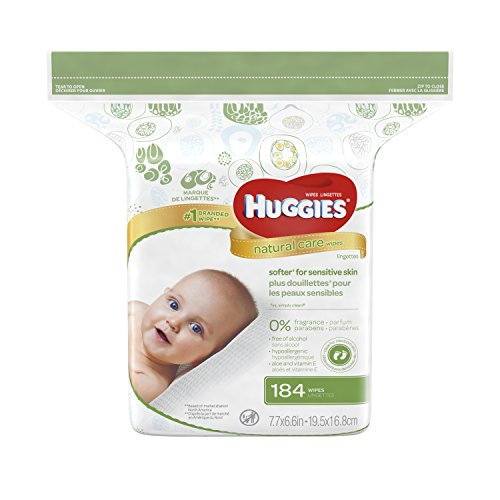 HUGGIES Natural Fragrance free Alcohol free Hypoallergenic product image