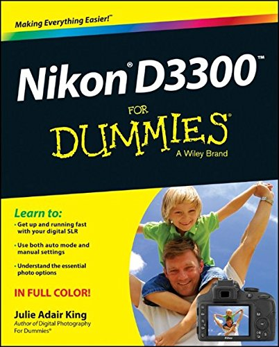 Nikon D3300 For Dummies cover