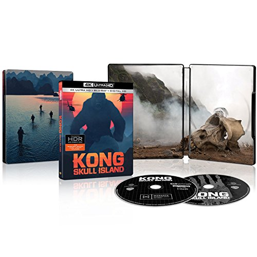 Kong Skull Island Ultra Hd Blu Ray Steelbook Canadian