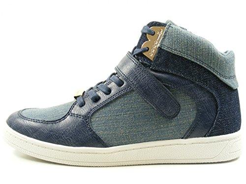 Schuhe Top 1 Halbschuhe Tamaris Schnürschuhe Damen 28 High Sneaker Blau 25210 6AnnSq84