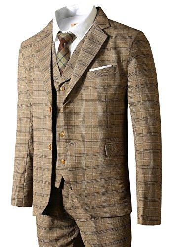 Wool 3 Piece Suit - 9