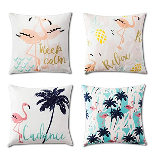 (DTG Electronics Set of 2 Decorative Throw Pillow Covers,18