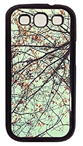 XIAOXINGYUN Trees Ants Eye View Hard Back Protective Cover Case for Samsung Galaxy S3 I9300 PC Material Black