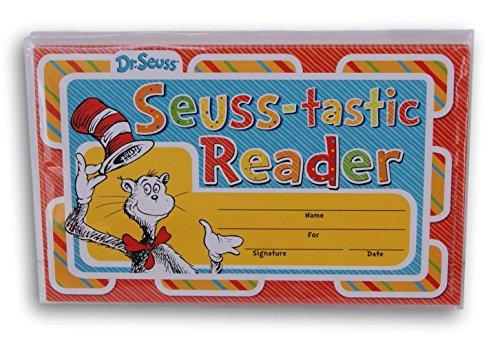 Dr. Seuss Cat in the Hat Seuss-Tastic Reader Recognition Awards - 18 -
